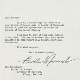 Letter: 1941 September 5