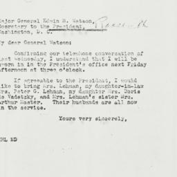 Letter: 1942 November 28