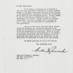 Letter: 1943 January 1