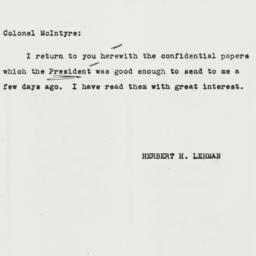 Letter: 1943 March 16