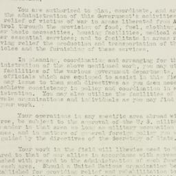 Letter: 1943 March 19