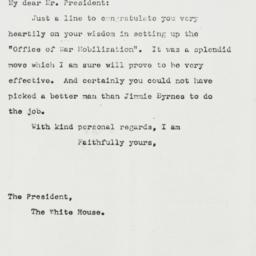 Letter: 1943 May 29