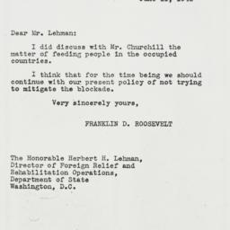 Letter: 1943 June 11