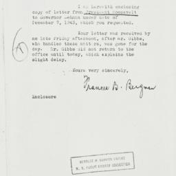 Letter: 1944 March 6