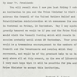 Letter: 1944 September 12