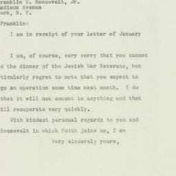 Letter : 1948 January 29