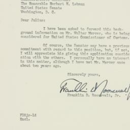 Letter : 1951 April 12