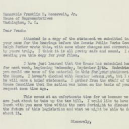 Letter : 1951 September 12