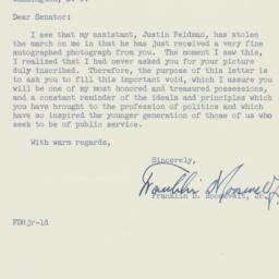 Letter : 1954 February 1