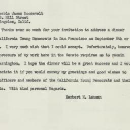 Telegram : 1951 July 16