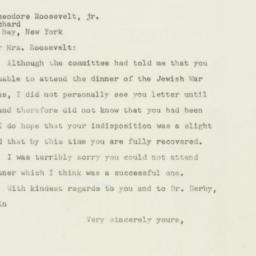 Letter : 1948 March 1