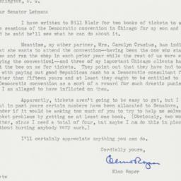 Letter : 1956 July 17