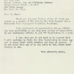 Letter : 1950 May 24