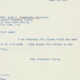 Letter : 1937 June 30