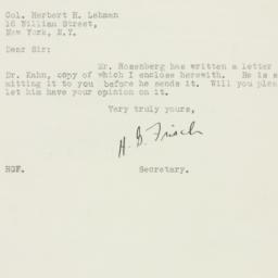 Letter : 1925 December 29