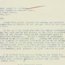 Letter : 1933 September 17