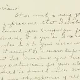 Letter : 1936 October 5