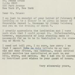 Letter : 1946 February 12
