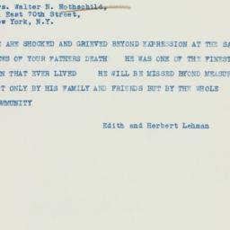 Telegram : 1937 October 20
