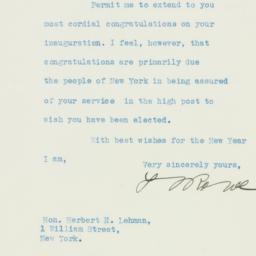 Letter : 1932 December 30