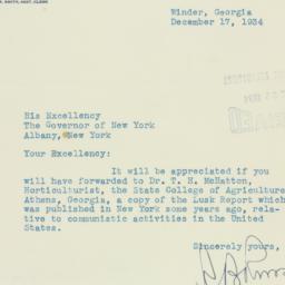 Letter : 1934 December 17