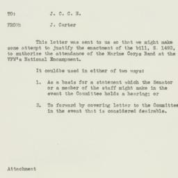 Memorandum : 1951 June 20