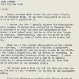 Letter : 1956 November 19