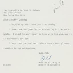 Letter : 1961 June 30