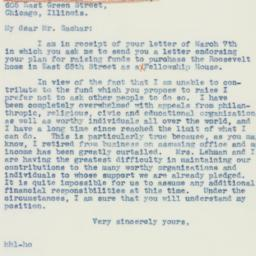 Letter : 1942 March 12
