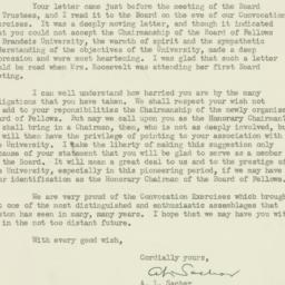 Letter : 1950 May 31