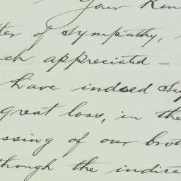 Letter : 1934 February 14