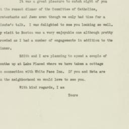 Letter : 1947 May 23