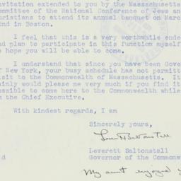 Letter : 1939 February 14