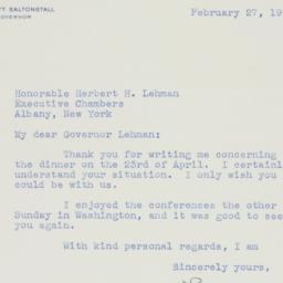 Letter : 1942 February 27