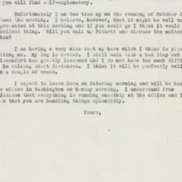 Letter : 1943 October 14
