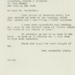 Letter : 1946 December 10