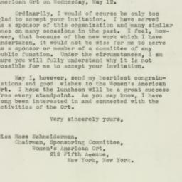 Letter : 1943 January 6