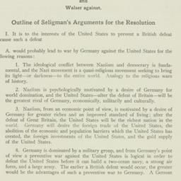 Pamphlet : 1941 January 8