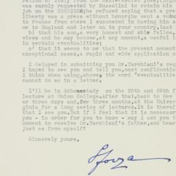 Letter : 1941 January 26