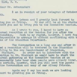 Letter : 1942 October 12