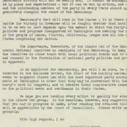 Letter : 1932 March 12