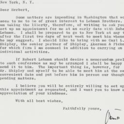 Letter : 1961 May 18