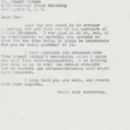 Letter : 1961 August 31