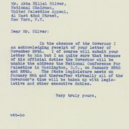 Letter : 1940 December 2