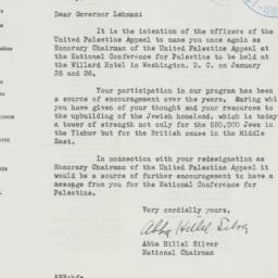 Letter : 1941 January 2