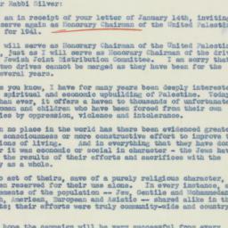 Letter : 1941 January 21