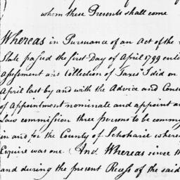 Document, 1799 October 18