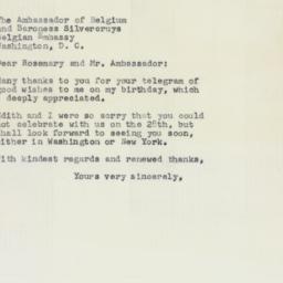 Letter : 1958 April 9
