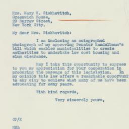 Letter : 1934 February 7
