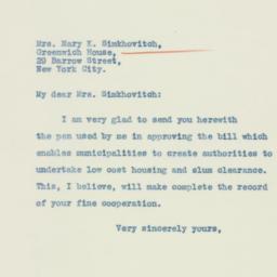 Letter : 1934 February 27